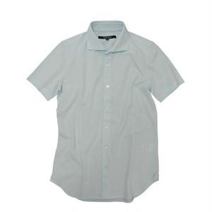 DJS-004 decollouomo メンズドレスシャツ半袖 SKYBLUE - スカイブルー