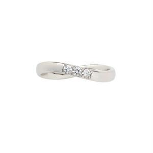 [約1ヶ月でお届け]レディース 2.6mm幅 プラチナ 結婚指輪 OCTAVE∞Cercle~輪~「終わりのない無限の輪 時を超えても変わらない永遠∞の絆」