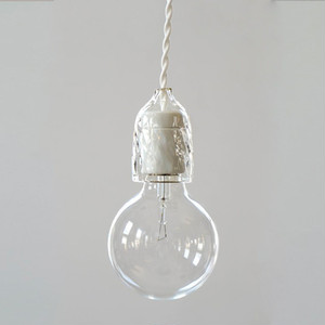 Socket Lamp Glass|硝子
