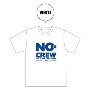 NO-CREW × 夏達維(Natsu Tatsuyuki) コラボレーション Tシャツ ホワイト (受注)