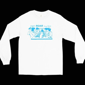 """""""anger ROAR from here""""Tee(long sleeve)"""