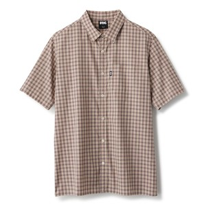FTC / PLAID SHIRT -BEIGE-
