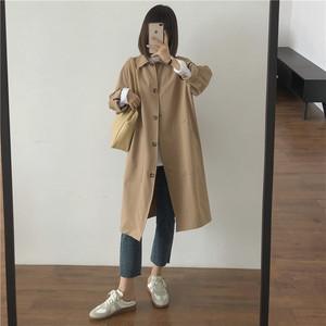 〈@caho146cm様着用〉カフェに行きたくなるコート【cafe coat】
