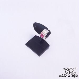 スナップリング フープ ピアス ジルコニア シルバー 銀 ピンク PINK 891