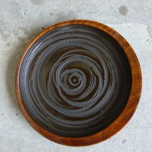 三日月小皿 象谷塗(ぞうこくぬり)【香川漆器】
