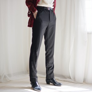 slim slacks / black