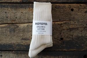 RoToTo / ORGANIC DAILY 3 PACK CREW SOCKS
