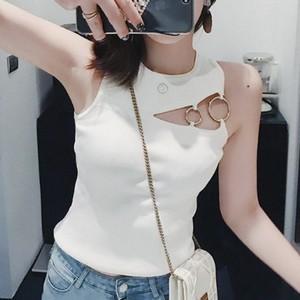 【トップス】通販ファッションおしゃれセクシーノースリーブベスト21351820