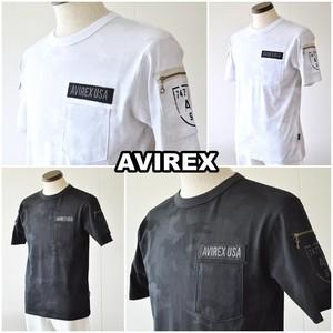AVIREX アビレックス 迷彩 ファティーグTシャツ 6113328 ミリタリーTシャツ