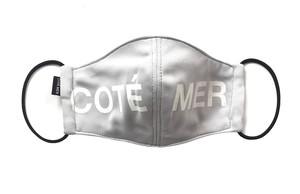 【デザイナーズマスク 吸水速乾COOLMAX使用 日本製】COTE MER LOGO MASK CTMR GRAY