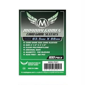 (63.5x88mm)Mayday カードスリーブ MDG-7041