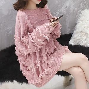 一目惚れ女らしいセーター3色ins-1248