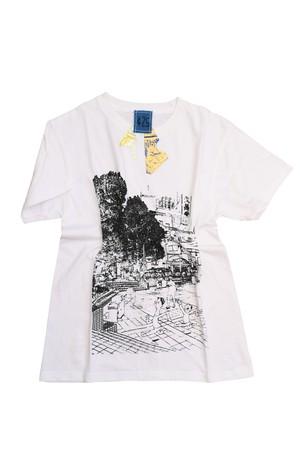NO.485 町田カリオン広場のTシャツ【東京都】【XSサイズ】