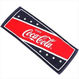 コカコーラ☆★星条旗カラーフェイスタオル【アメリカ】