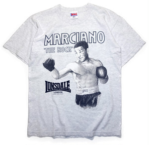 "【S】 97s LONSDALE T-SHIRT ""ロッキー・マルシアノ"