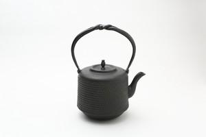 鉄瓶 筒形アラレ 1.5L 村上怜