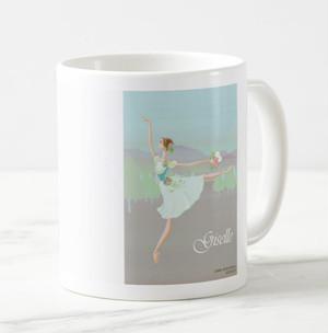 「花の妖精バレリーナ」イラスト入りマグカップ MC100408-007