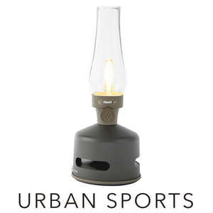 MoriMori LED ランタンスピーカー URBAN SPORTS (ダークブラウン色)