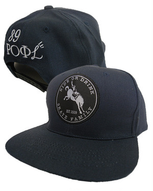 SOLD OUT!! ROD & ROFL SNAPBACK CAP NVY