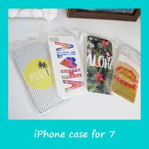 ハワイアン スマホケース for iPhone7