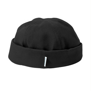 Tightbooth  COTTON ROLL CAP BLACK