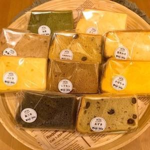 和風BOX 10カット シフォンケーキ(送料込み)