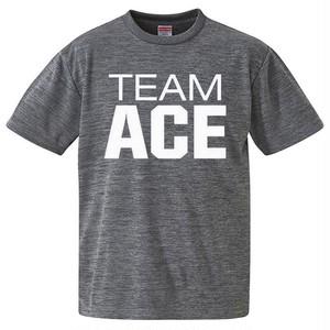 格言有/第3弾TEAM ACEシャツ!(グレー)