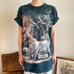Tシャツ アニマル スーベニアTシャツ