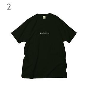 GATAFORNIAボックスロゴ Tシャツ ブラック サイズM
