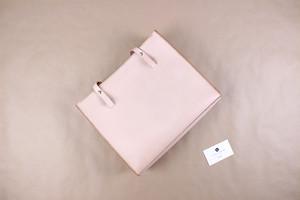 JAPAN LANSUI DESIGN 名入れ対応 ヌメ革手作り手縫い ハンドバッグ ファスナー付き 品番09K86322D