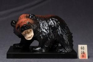 吠え熊 6寸〈黒〉-58