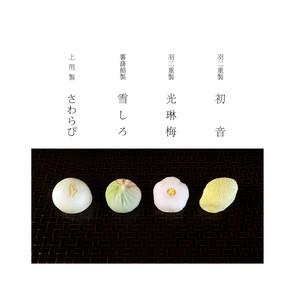 季節の蒸菓子4個入 -mushigashi-