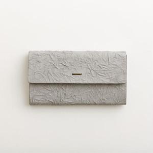 i ro se paper long wallet  gray