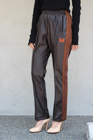 SALE対象商品【Needles】narrow track pants synthetic lame tape