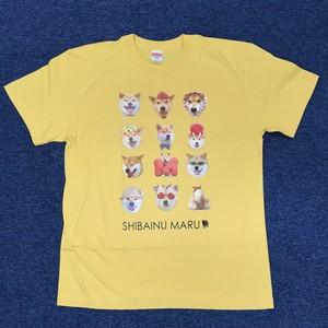 まるがいっぱいTシャツ バナナ