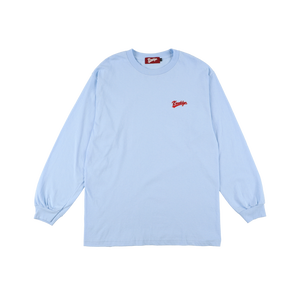 K'rooklyn Long Sleeve T-Shirt -Light Blue-