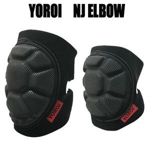 鎧 NJエルボー プロテクター チタン 肘サポーター スノーボード・スケボー・乗馬などに