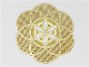 神聖幾何学図形・タリズマン(護符)エナジーカード・シードオブライフ(希望)