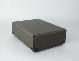 concrete craft (コンクリートクラフト)BENT チャコール A5 W16,8 × D23 × H8cm パスコ ボックス ステーショナリー 機能性 収納雑貨 Craft One