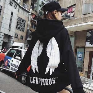 【トップス】ファッション新作プリント長袖翼パーカー