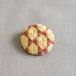 刺繍ブローチ | ヒラヒラ