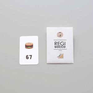 regi gocco card PAN / レジごっこカード パン