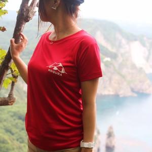 MOGURA登山部シルキードライタッチ Mサイズ 赤