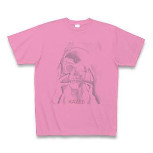 KAZE6 Tシャツ SKULL(PINK)