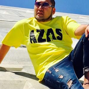 AZAS ロゴTシャツ (イエロー×ブラック)