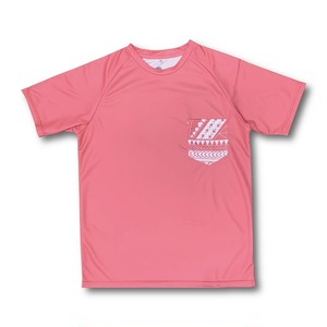 【YBC】Tribal Pocket T-shirt Pink