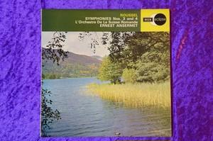 アンセルメのルーセル交響曲3&4番(ステレオ)