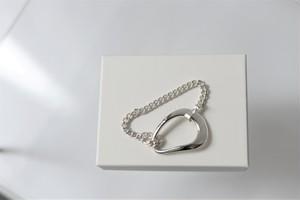liquid / oval bracelet