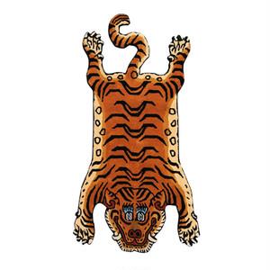 チベタンタイガーラグ 顔パターン 【1】L【再入荷】