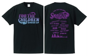 FOR THE CHILDREN Tee (PURPLE)【SALE】